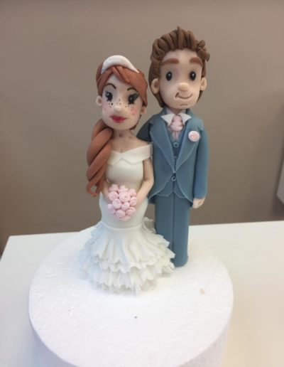 personalised bride and groom